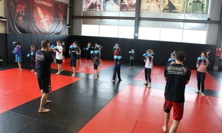 { Kids MMA Summer Camp}